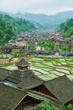 Dong Village, Guizhou, Chine photos libres de droits