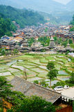 Dong Village, Guizhou, Chine photo stock