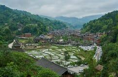 Dong Village, Guizhou, Cina Immagine Stock Libera da Diritti