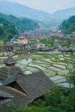 Dong Village, Guizhou, Cina fotografie stock