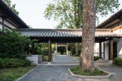 Wu Dadi Sun Quan-Gedenkteken Royalty-vrije Stock Foto's