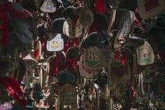 Dongba-Aspiration Windbells stockfotografie