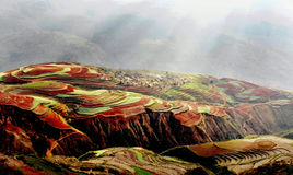 Dongchuan Red Land Royalty Free Stock Photography