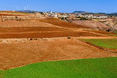 Dongchuan Red Land Royalty Free Stock Images