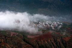 Dongchuan Red Land of Yunnan stock photos