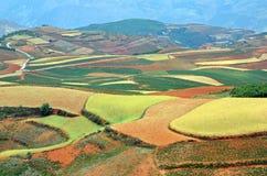 Dongchuan Red Land Royalty Free Stock Image