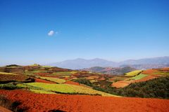 Dongchuan Redland Royalty Free Stock Photography