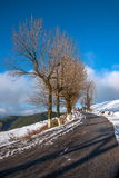 After Dongchuan, Yunnan Red Land of Snow photographer Stock Images