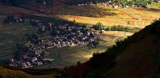 Dongchuan, Yunnan red land Stock Photography