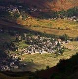 Dongchuan, Yunnan red land Royalty Free Stock Photography