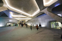 Dongdaemun设计广场 免版税库存照片