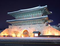 Dongdaemun门 库存图片
