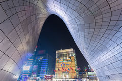 Dongdaemun Design Plaza at N Royalty Free Stock Photo