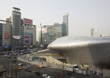 Dongdaemun Design Plaza Stock Photos