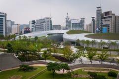 Dongdaemun designPlaza Fotografering för Bildbyråer