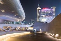 Dongdaemun designPlaza Arkivbilder
