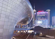 Dongdaemun designPlaza Arkivbild