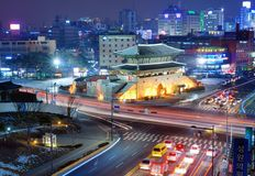 Dongdaemun Gate Royalty Free Stock Photography