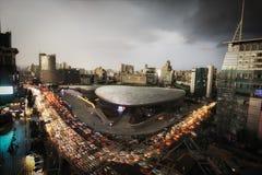 Dongdaemun Plaza στη Σεούλ Στοκ Εικόνες
