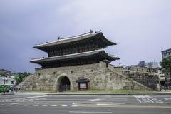 Dongdaemun, Seoel, Zuid-Korea stock afbeeldingen