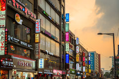Dongdaemun Town Royalty Free Stock Images
