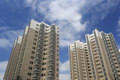 Dongfangxincheng,低收入人民的新的indemnificatory住房 库存照片