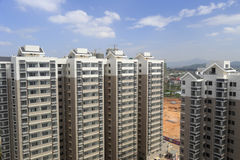 The dongfangxincheng, new indemnificatory housing for low-income people Royalty Free Stock Photo