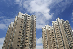 Dongfangxincheng, new indemnificatory housing for low-income people Stock Photo