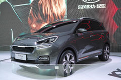 DongFeng KIA KX3 Concept SUV Royalty Free Stock Images