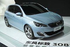 Dongfeng Peugeot 308s Stock Photography