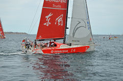 Dongfeng Volvo Ocean Race Stock Images