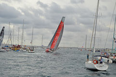 Dongfeng Volvo Ocean Race Royalty Free Stock Image
