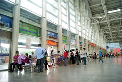 Dongguan bus station, in china Stock Images
