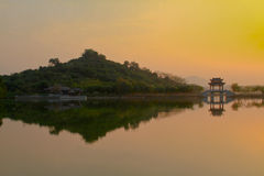 Dongguan City, with sand reservoir Stock Images
