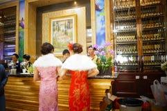 Dongguan Kina: Stång Royaltyfria Bilder