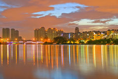 Dongguan Songshan Lake scenery. Eastphoto, tukuchina, Dongguan Songshan Lake scenery Stock Photography