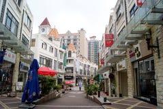Dongguang china: cuisine street Stock Photos