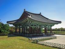 Donggung Palace and Wolji Pond in Gyeongju, South Korea. Stock Photo