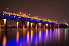 Dongho bridge. stock photography