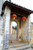 Donghuping culture village in China Royalty Free Stock Photo