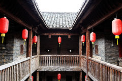 Donghuping culture village in China Royalty Free Stock Image