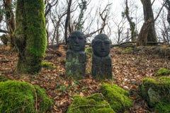 Dongjaseok en el parque de piedra imágenes de archivo libres de regalías