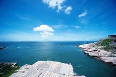 Dongji öar Arkivfoto