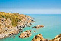 Dongju Juguang Lighthouse Headland H Royalty Free Stock Image