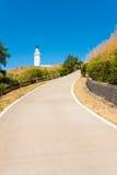 Dongju Matsu Lighthouse Long Driveway Stock Photography