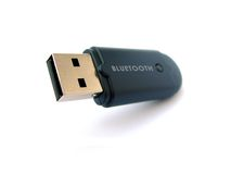 Dongle USB Bluetooth stock afbeeldingen
