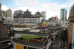 Dongmen Pedestrian Street in ShenZhen Royalty Free Stock Image
