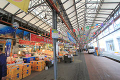Dongmun Traditional Market in Jeju Royalty Free Stock Images