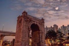 Dongnimmun-Tor Seoul Südkorea Stockfotografie