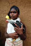 Dongria Kondh tribe's Women in Orissa-India Royalty Free Stock Photography